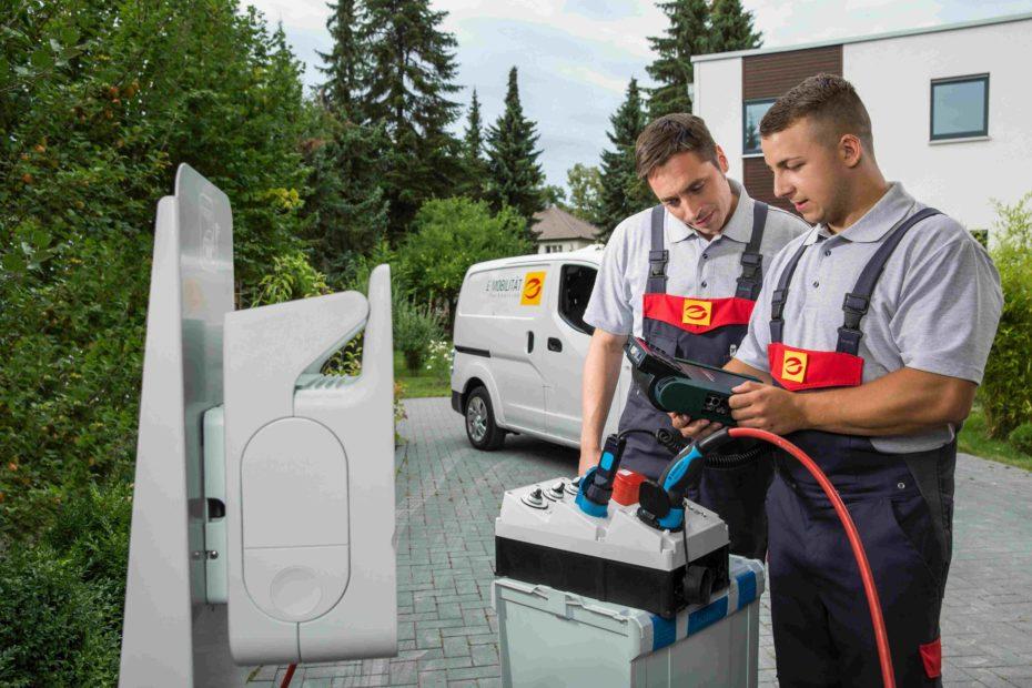 Installation, Service & Wartung von Ladestationen, Wallboxen, Ladelösungen & Ladepunkte.
